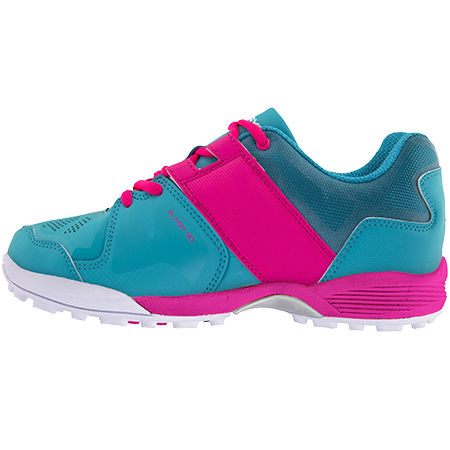 Grays Hockey Shoes Flash 40 Aqua_pink Ladies, Instep