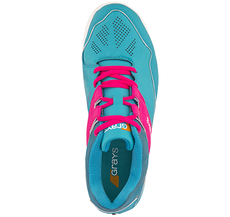 Grays Hockey Shoes Flash 40 Aqua_pink Ladies, Top