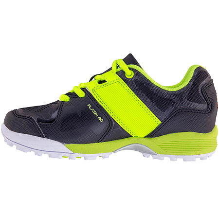 Grays Hockey Shoes Flash 40 Junior Black_neon, Instep