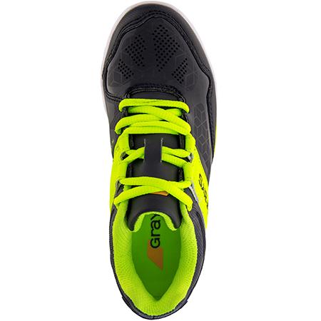Grays Hockey Shoes Flash 40 Junior Black_neon, Top