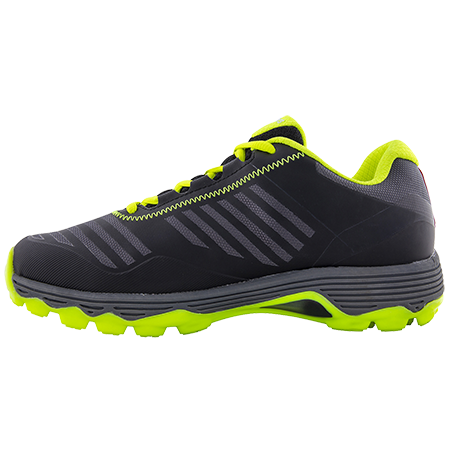 Grays Hockey Shoes Burner Black Fluo Yellow, Instep