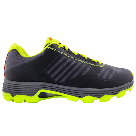 Grays Hockey Shoes Burner Black Fluo Yellow, Outstep