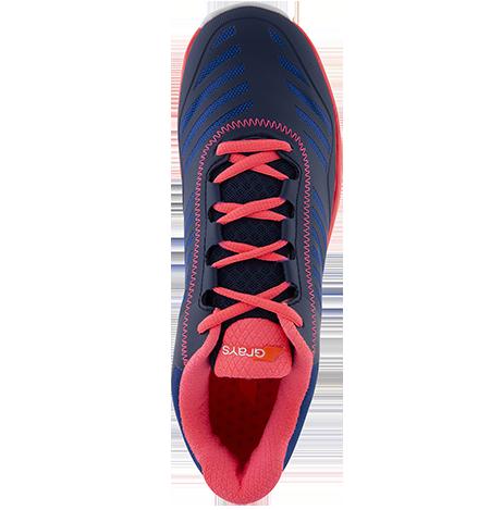 Grays Hockey Shoes Burner Navy Pink, Top