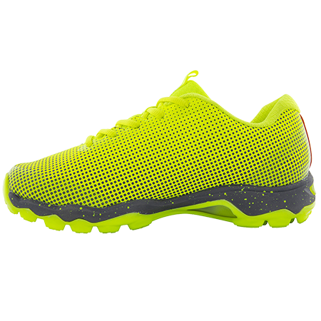 Grays Hockey Shoes Flight AST Fluo Yellow, Instep
