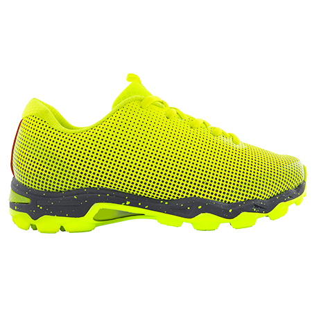 Grays Hockey Shoes Flight AST Fluo Yellow, Outstep