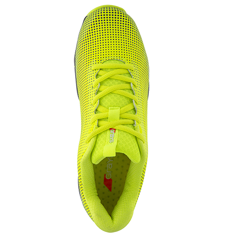 Grays Hockey Shoes Flight AST Fluo Yellow, Top