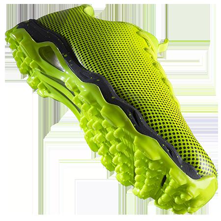 Grays Hockey Shoes Flight AST Fluo Yellow Main