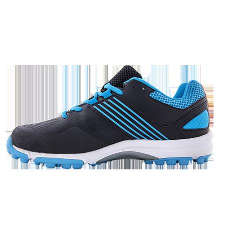 Grays Hockey Shoes Flash 2 Black Blue, Instep
