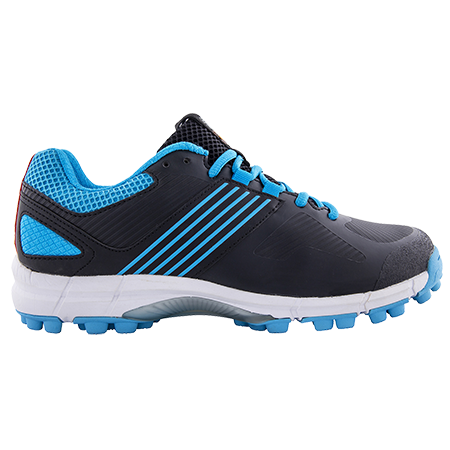 Grays Hockey Shoes Flash 2 Black Blue, Outstep