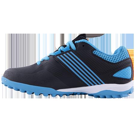Grays Hockey Shoes Flash 2 Kids Blue Black Instep