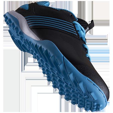Grays Hockey Shoes Flash 2 Kids Blue Black Main