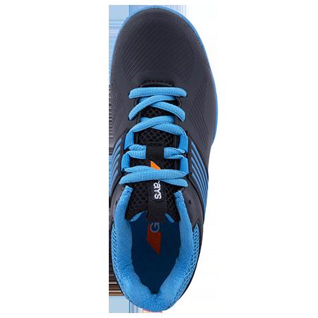 Grays Hockey Shoes Flash 2 Kids Blue Black Top