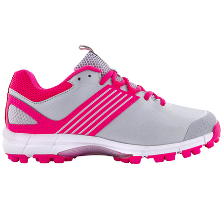 Grays Hockey Shoes Flash 2 Silver Pink, Outstep