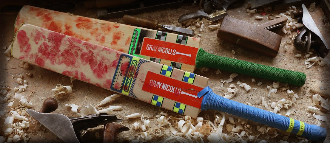 Gray-Nicolls Professional bat repair, refurbishment and customisation services
