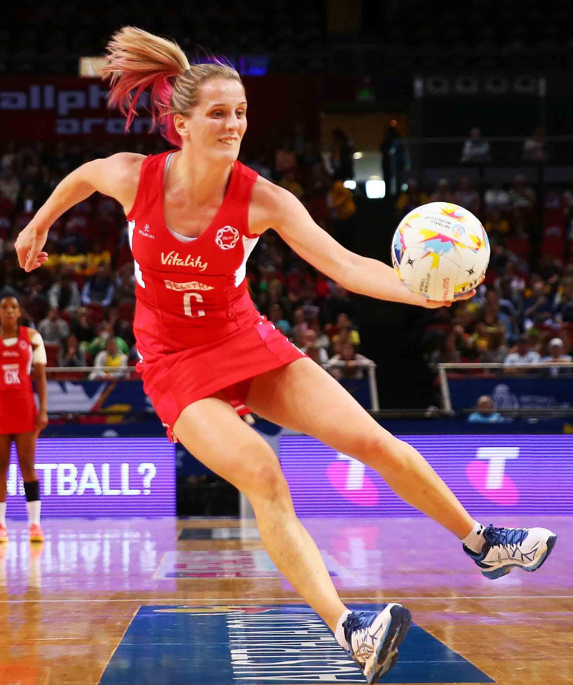 8a7cf7289d16 Sara Bayman named as England Netball Captain
